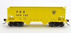 Bowser HO GLa Hpr Gla PRR MOW Yellow Simplified 3 pack of cars