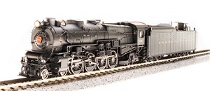 Broadway Limited 3635 PRR M1a 4-8-2, #6766, Paragon3 Sound/DC/DCC, N scale