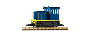 Piko G Scale 38502 Blue Goose GE 25-Ton Diesel Switcher Locomotive (G-Scale)
