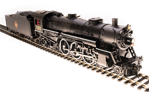 Broadway Limited 5603 Light Pacific 4-6-2, Candian National #5301, Paragon3 Sound/DC/DCC, HO