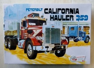 AMT Models 866 Peterbuilt 359 California Hauler 1/25 Plastic Model Kit