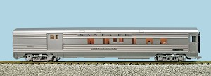 "USA TRAINS R310003 Santa Fe ""Super Chief""Combine - Stainless Steel"