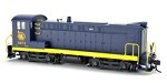 Bowser HO DS 4-4-1000 w/Snd CNJ Blue/Yellow 1968 Era #1072   #1-24778