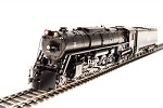 Broadway Limited 2593 Milwaukee S-3 4-8-4, #265, Paragon3 Sound/DC/DCC, HO