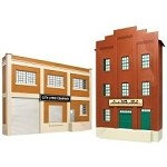 Atlas O 2717 CITY LITHO/BLACK ROCK BEV BLDG FRONTS