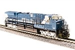Broadway Limited 3741 GE AC6000, BHP Iron Ore #6074, Blue & White