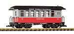 PIKO 38650 New York Central (NYC) Wood Coach #286 (G-Scale)