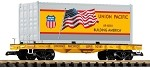 Piko G Scale 38750 UP Container Car (G-Scale)