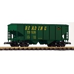 PIKO G SCALE 38837 Reading Offset-Side Hopper Car (G-Scale)
