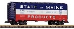 Piko G Scale 38859 Bangor & Aroostook, Maine Steel Boxcar (G-Scale)
