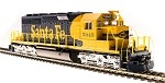 Broadway Limited 5360 EMD SD40-2, ATSF #5049, Blue & Yellow, Paragon3 Sound/DC/DCC, HO