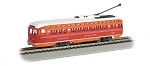 BACHMANN 60502 HO SCALE PACIFIC ELECTRIC - PCC STREETCAR DCC SOUND VALUE (HO SCALE)
