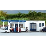 Piko HO Scale 61827 Hobby Line ARAL Gasoline Station, Building Kit (HO-Scale)