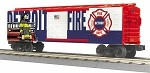 MTH Trains 30-74995 O Scale Detroitr Fire Dept. Boxcar