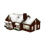Lionel O Scale Plug and Play 6-84795 - DELUXE CHRISTMAS HOUSE(18C)