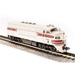 BROADWAY LIMITED N Emd F3A Cb&Q 116D Greyback Stock Number: 3488