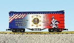 "USA Trains G Scale R16007 ""Free Men"" Patriotic Car"