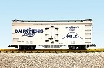 USA Trains 16000 series G R16015A,B,C,D Dairymans League CHOICE OF 1 CAR, 4 DIFFERENT ROAD #'S AVAILABLE