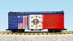 "USA Trains G Scale R16027 ""We Stand for the National Anthem"" Patriotic Car"