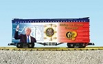 "USA Trains G Scale R16031 ""Making Our Economy Great Again"" Patriotic Car"