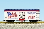 "USA Trains G Scale R16486 Liberty Bonds ""Old Glory""  Patriotic Car"