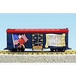 USA Trains G Scale R16487 Pledge of Allegiance Patriotic Car