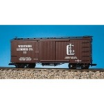 USA Trains G Scale R19041B WESTSIDE LUMBER #11 - BROWN