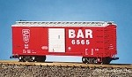 USA TRAINS G SCALE R19066         BANGOR & AROOSTOOK #6565 RE/SI