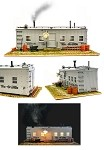 USA Trains G SCALE R1940 ROADSIDE SHANTY with Smoking Stack and Lights