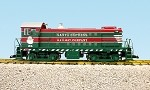 USA Trains G Scale R22576 - CHRISTMAS S4 RED/GREEN  R12026 - CHRISTMAS CABOOSE-RED/GREEN COMBO DEAL
