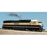 USA Trains G Scale R22614 BNSF SD70 MAC - GREEN/CREAM